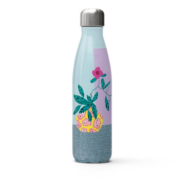 Stainless Steel Water Bottle | Musée  x John & Rosetta Santucci