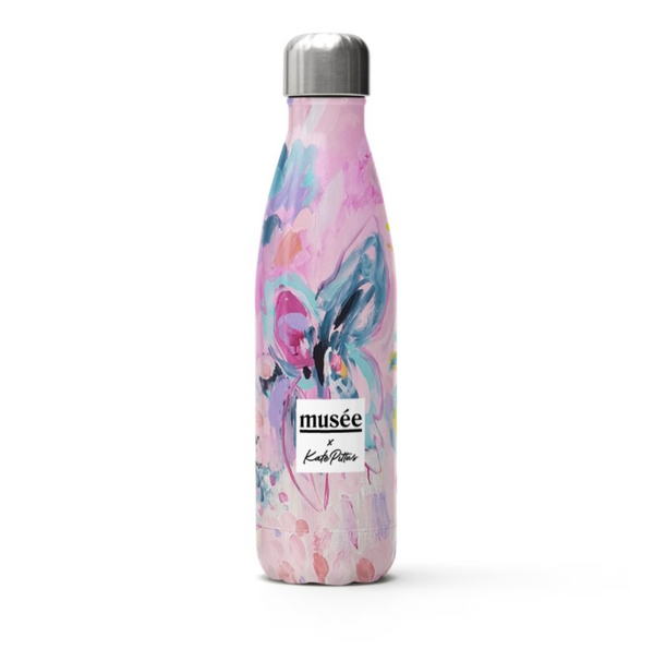Stainless Steel Water Bottle | Musée x Kate Pittas