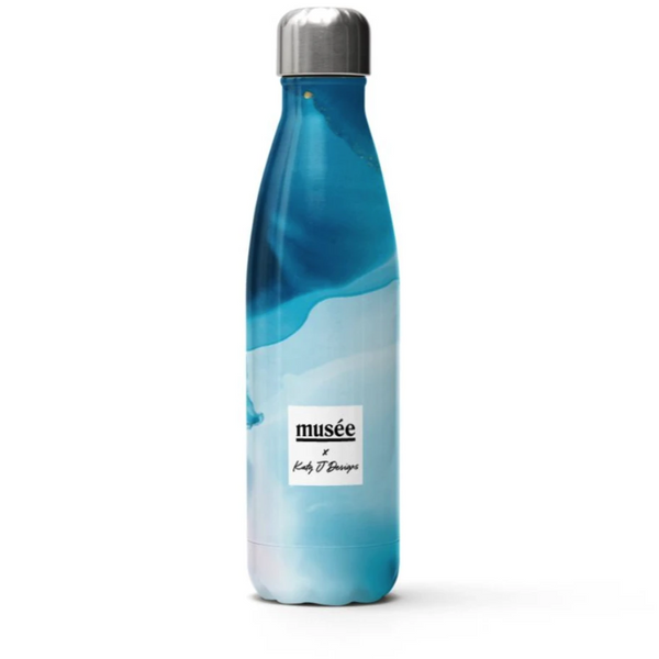 Stainless Steel Water Bottle | Musée x Katy J Designs
