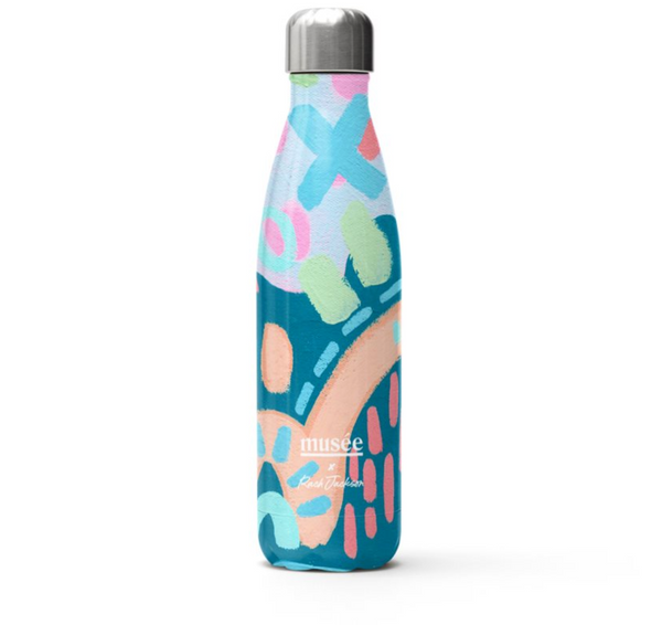 Stainless Steel Water Bottle | Musée x Rach Jackson PRE ORDER