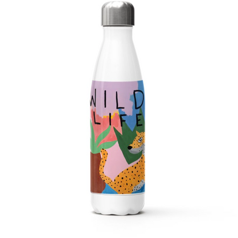 Stainless Steel Water Bottle | Wild Life | Musée x The Walking Creative PRE ORDER