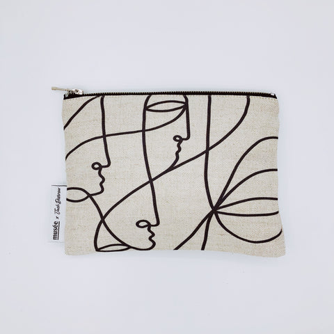 Clutch 'Tribe' | Medium | Musée x Jack Devereux