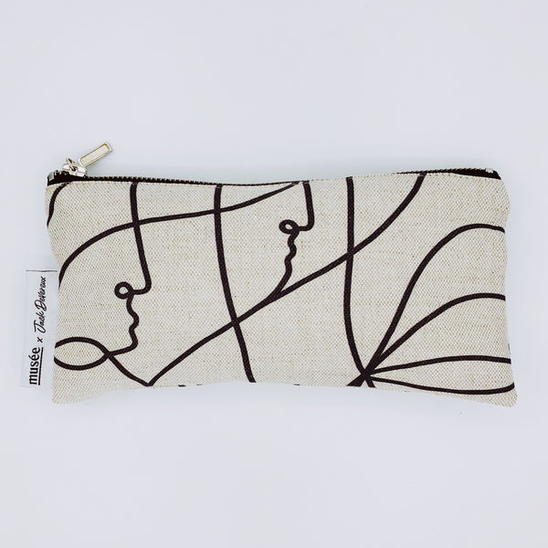Clutch 'Tribe' | Small | Musée x Jack Devereux