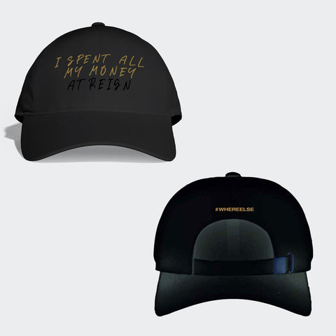 Baseball Cap (Staff Customs) 'I Spent All My Money'