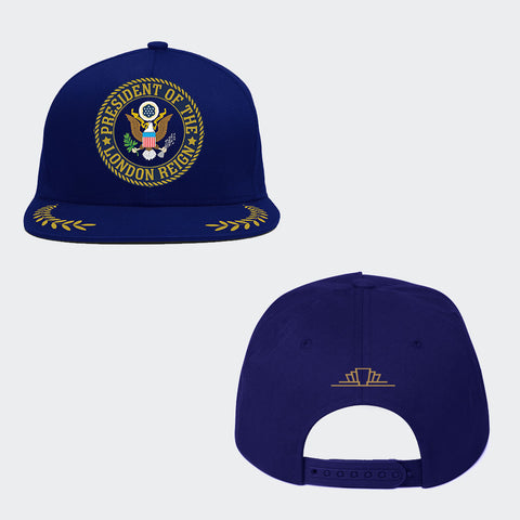 Flat Cap (Staff Customs) 'Presidential Seal'