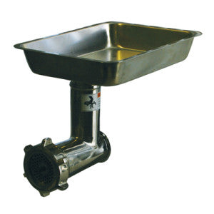 Alfa 12 SS CCA Meat Grinder Attachment (Stainless Steel) - FoodEquipmentDirect