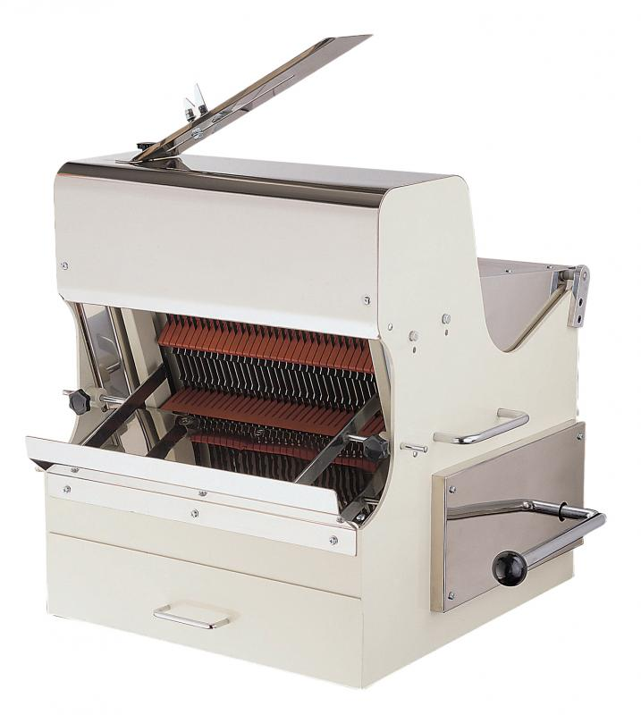 Omcan SB-TW-0016-S (21122) 30-INCH BREAD SLICER WITH 0.5 HP MOTOR - FoodEquipmentDirect