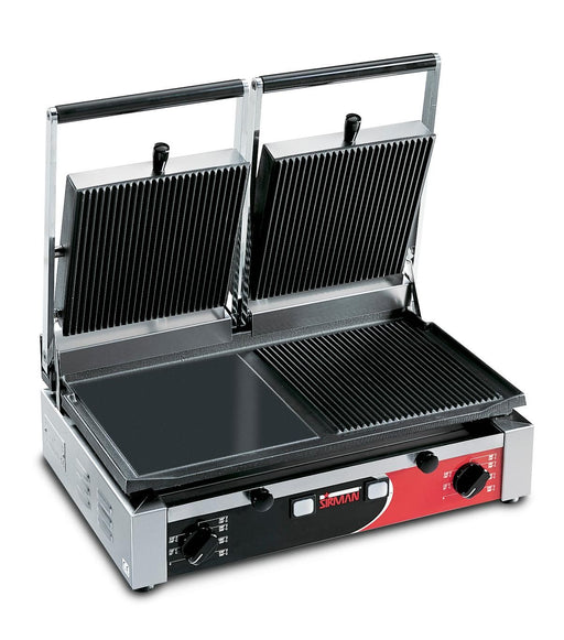 Sirman PD Series Large Panini Grill with Timer - FoodEquipmentDirect