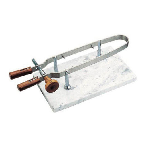 "Paderno World Cuisine 41583-00 Ham Holder, Marble Base, L 9 1/2"" x W 17 3/4"" x H 5 7/8"""