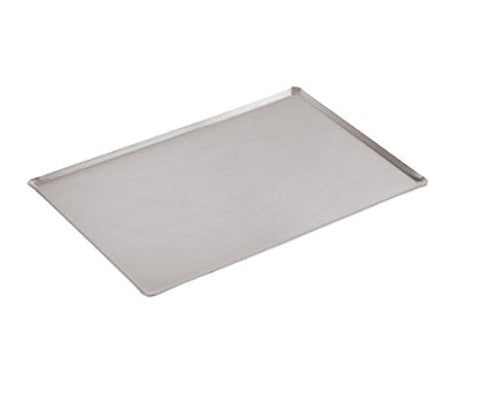 Paderno World Cuisine 41744 Aluminum Baking Sheet,45 degree Sides - FoodEquipmentDirect