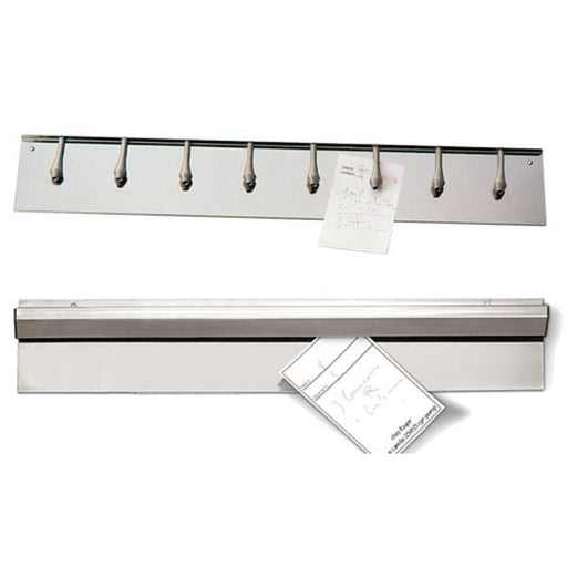 "Paderno World Cuisine 42509-99 Stainless Steel Order Holder, L 39 3/8"" - FoodEquipmentDirect"