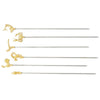 42529-06 Decorative Skewers, Set of 6, L 11 7/8""