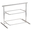 "44840-04 Two-tier Chromed Steel Stand, L 24 7/8"" x W 10 5/8"" x H 17 1/2"""