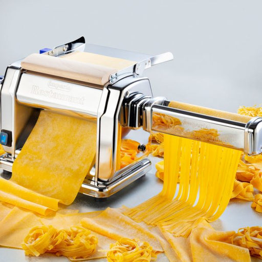 Imperia Restaurant Pasta Sheeter Electric Model New Style 2019 - 120 volt or Manual and Cutting Dies