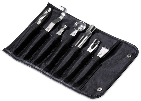 Triangle 9025507 Stainless Steel Garnishing Tool Set