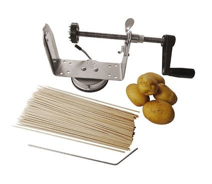 "Paderno World Cuisine A4982102 Accordion Spiral Slicer, H 6"" x L 11"" x W 4"" - FoodEquipmentDirect"