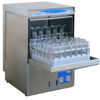 "Lamber DSP3 Square basket Glass Washer, (W 18"" x H 31"" x L 20"") - FoodEquipmentDirect"