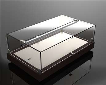 Equipex Countertop Chilled and Ambient Displays