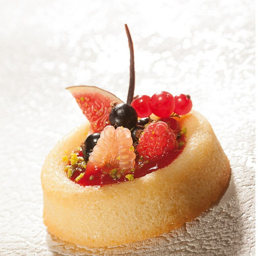 Demarle Flexipan - Flan Bases Flexible Molds FP 1057 - Vol. 2.37 oz (70 ml) - FoodEquipmentDirect