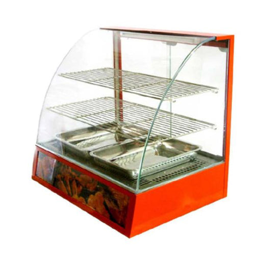 Omcan FW-3 (21479) Warmer Display with Curved Glass