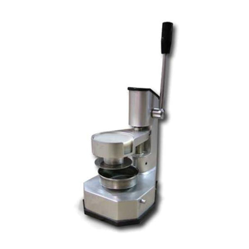 "Omcan HR10 (11434) Hamburger Press, Manual, 4"" Dia., Rugged Construction, S/S on Food Contact Areas - FoodEquipmentDirect"