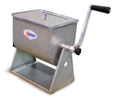 Omcan Manual Tilting Mixer, Removable Paddle