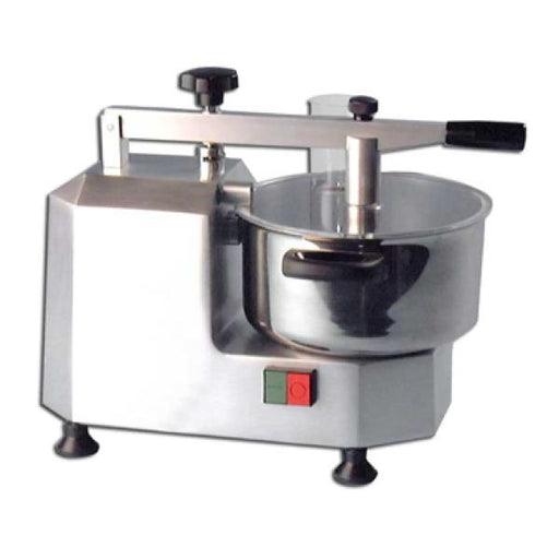 Omcan Food Processor, Bowl Style, Safety Switch On Lid, Stainless Steel Bowl & Knives