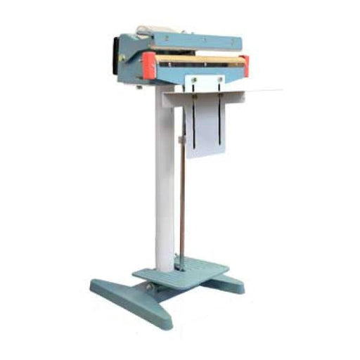 "Omcan Foot Operated Impulse Bag Sealer, Automatic 14"" Seal Bar - FoodEquipmentDirect"