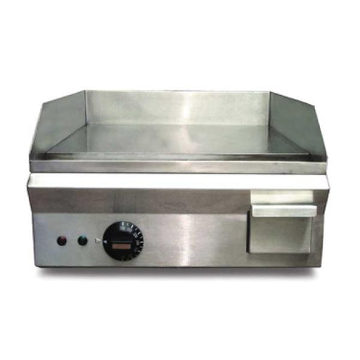 "Omcan PA10303A (20179) Griddle, 14"" x 16"" Cooking Area, 140-572 F (60-300 C) Temperature Range"