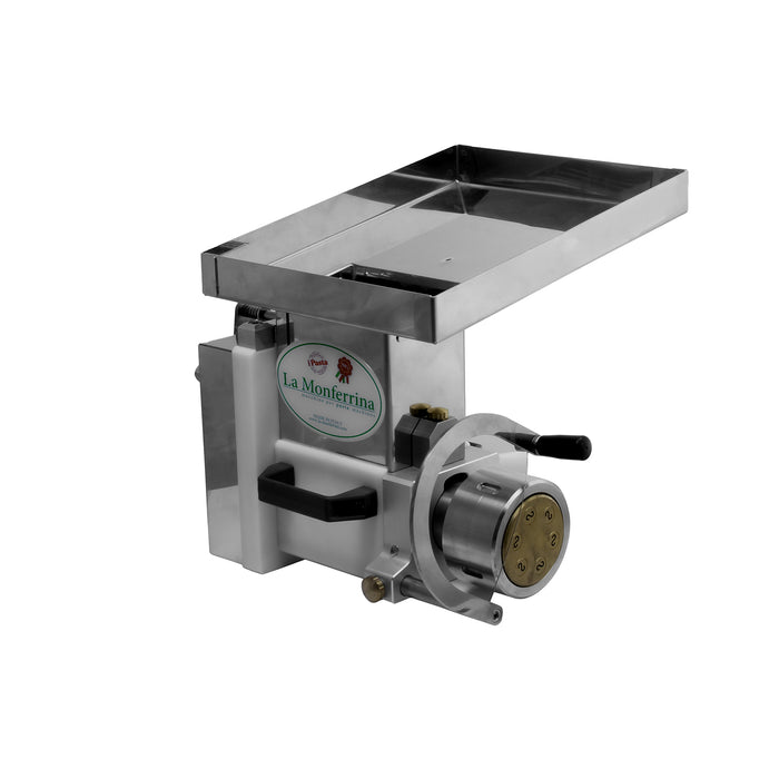 "<img src=""https://cdn.shopify.com/s/files/1/0084/6109/0875/products/PEXT-12-Side-2.jpg?v=1565884836"" alt=""Chloe Pasta Extruder Attachment for #12 Mixer Hub"">"