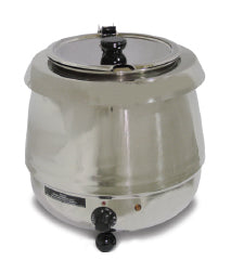 Omcan SB6000S (19074) Stainless Steel Soup Kettle, 10 L Capacity, 400 W - FoodEquipmentDirect