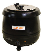 Omcan SB6000 (19073) Soup Kettle Black, 10 L Capacity, 400 W