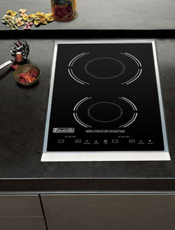 Eurodib SC05 Drop-In Double Induction Range with Digital Temperature Control,