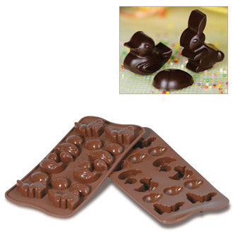 Silikomart SCG05 Easter Chocolate Mold, Make 14 Pieces From 0.20 to 0.27 oz