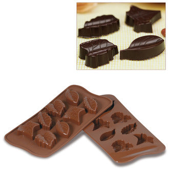 Silikomart SCG10 Nature Chocolate Mold, Make 8 Pieces From 0.34 to 0.46 oz