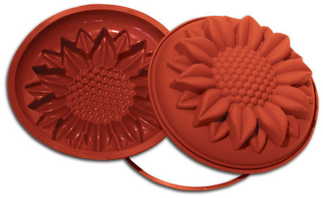 "Silikomart SFT252 Sunflower  Uniflex Mold, (2.76"" H )"