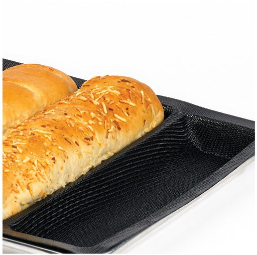 "Demarle SF 2164 Silform - Sub Sandwich Shape Baking Tray, 	12.25"" x 3"" (310 x 75 mm) - 16.91 oz - Vol. 16.91 oz (500 ml)"
