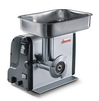 "Sirman TC8VEGAS Light-duty Meat Grinder, (W 11.8"" x H 8"" x L 16"")"