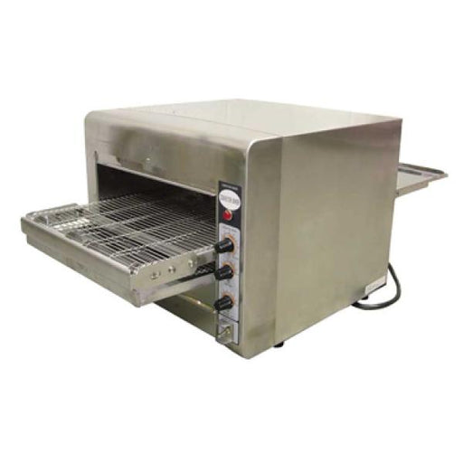 "Omcan TS7000 (11387) Conveyor Oven, 3-1/4"" Opening Height, Capacity 12-14"" Pizza/Hour - FoodEquipmentDirect"