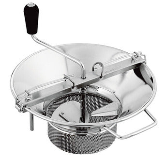 "<img src=""https://cdn.shopify.com/s/files/1/0084/6109/0875/products/X50_1__2.jpg?v=1571502567"" alt=""Tellier X5 8 Qt Stainless Steel Food Mill"">"