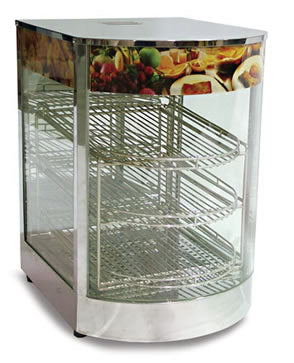 "Omcan FW-4 (21829)  Food/Display Warmer, D 17.75"" x W 13.75"" x H 20.25"""