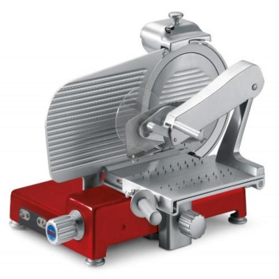 Sirman MANTEGNA 350 BS TOP Rossa Specialty Vertical Heavy-duty Slicers for Cured Meats - FoodEquipmentDirect