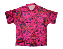 Load image into Gallery viewer, Pink Money Shirt - Noir Masae