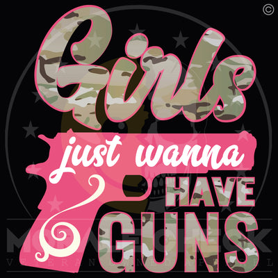 Girls Just Wanna Have Guns | Tank Top