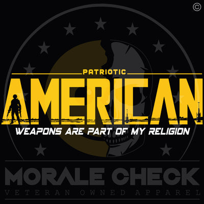 Weapons Are Part Of My Religion | T-Shirt