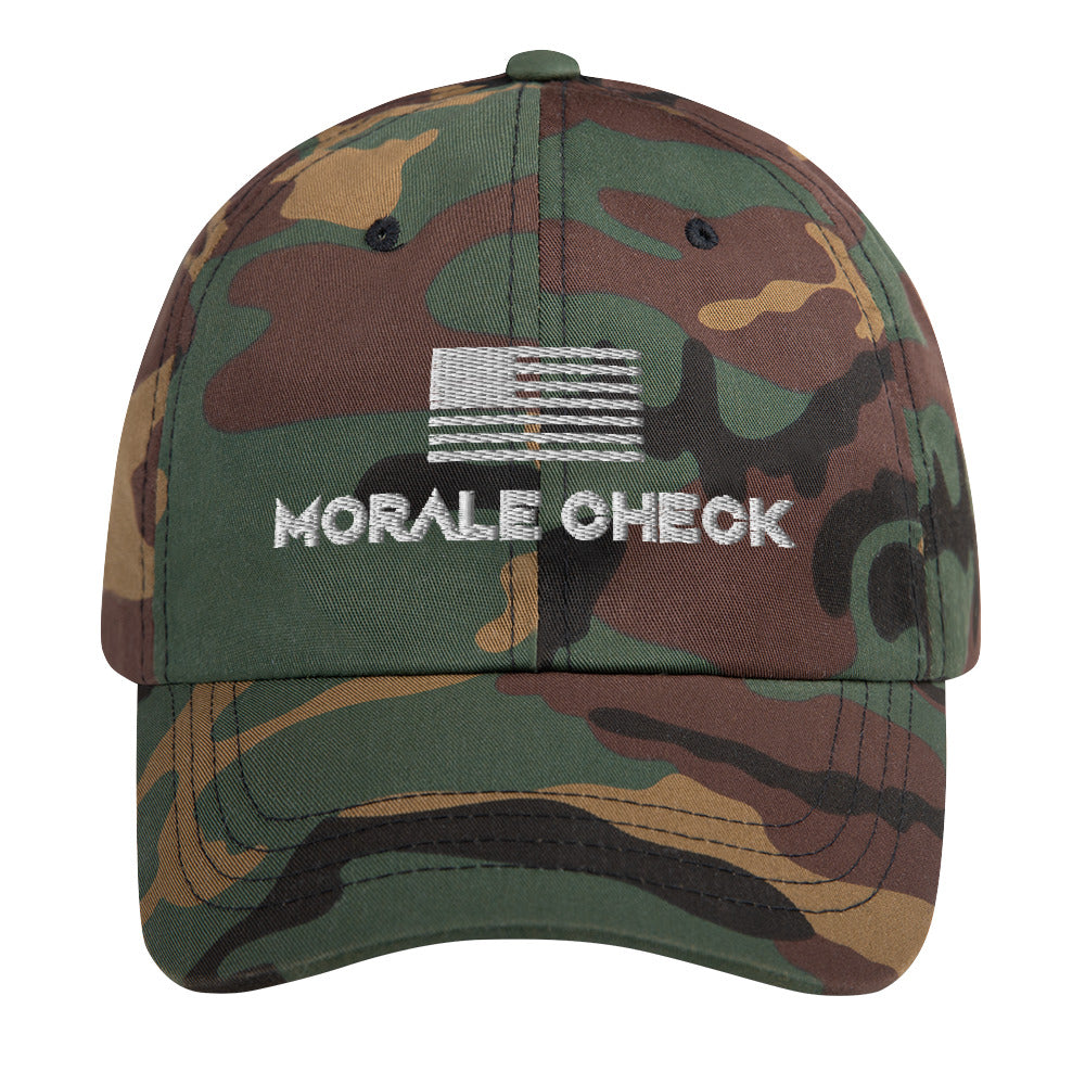 Morale Check USA | Dad Hat