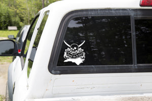 State & Scroll Decal
