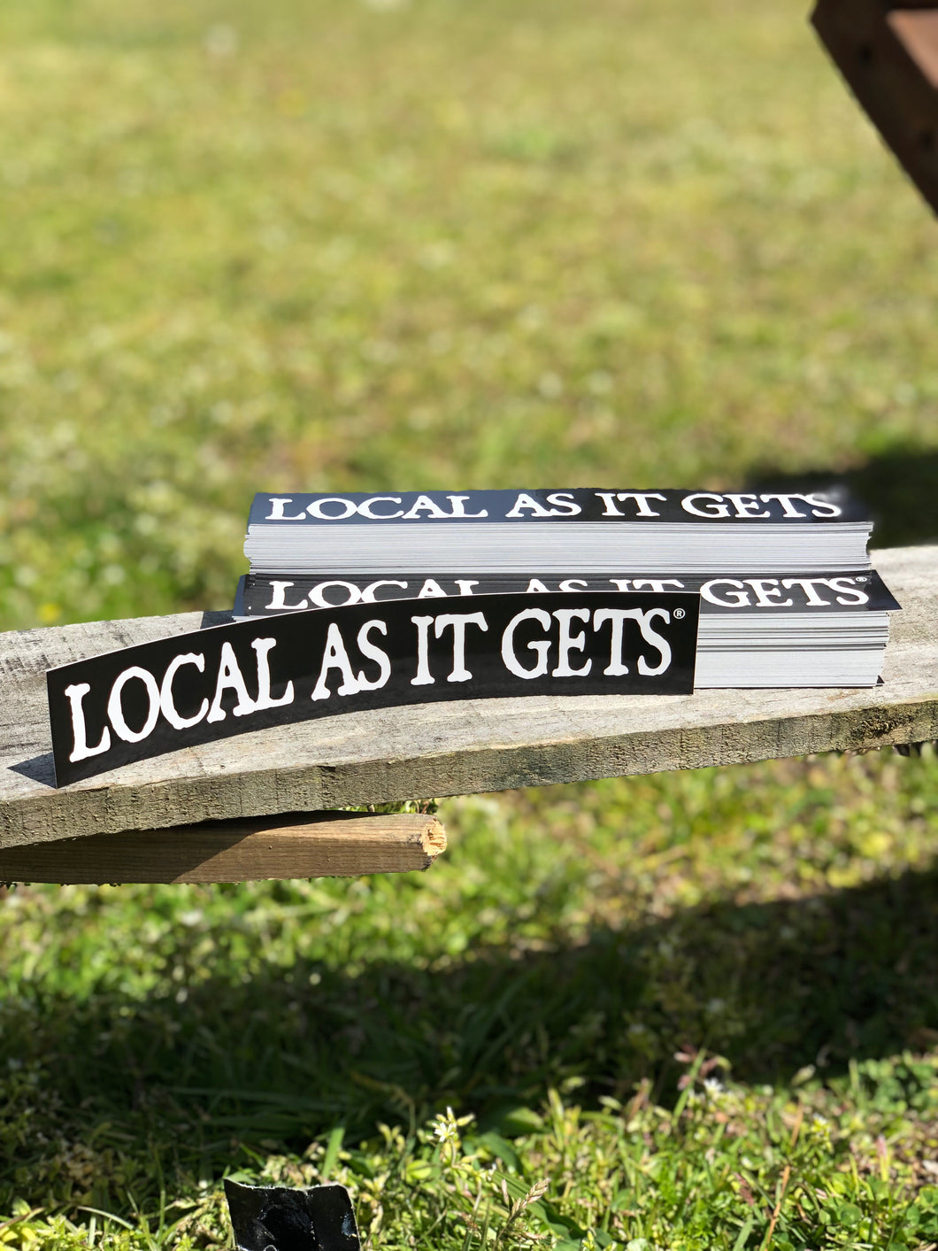 Original Local As It Gets sticker