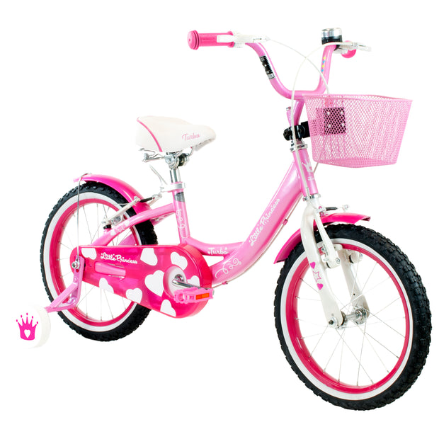 BICICLETA R16 TURBO LITTLE PRINCESS ROSA2