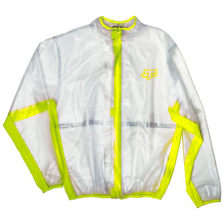 IMPERMEABLE FOX MX FLUID JACKET AMARILLO TALLA: M
